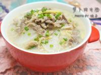 萝卜片瘦肉汤的做法