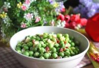 火腿小豌豆的做法