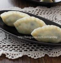 豆角榨菜素蒸饺的做法