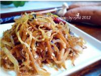 丁香鱼炒咸菜的做法