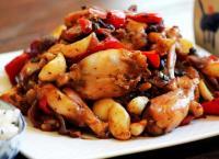 泡椒蒜子豆豉烧牛蛙的做法