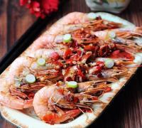 鲜辣粉丝蒸海虾的做法