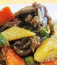 藏红花咖喱羊肉的做法