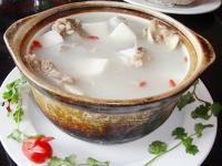 家常山药排骨汤的做法