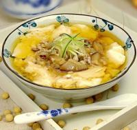 老北京小吃豆腐脑儿的做法