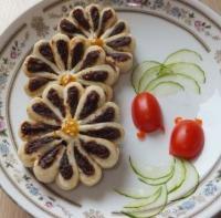 枣泥菊花酥的做法