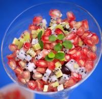国庆黄金周瘦身小菜-双果石榴沙拉的做法