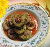 黄瓜酿肉的做法