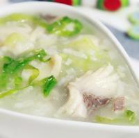 生菜鱼片粥的做法