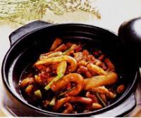 咸鱼茄子煲的做法