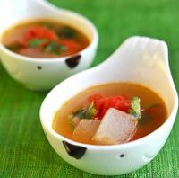 家常菜西红柿冬瓜汤的做法
