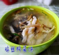 鸡丝榨菜汤的做法