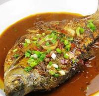 红油豆瓣酱烧鳊鱼的做法