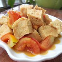 番茄烧冻豆腐的做法