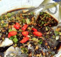 豉汁蒸南鲳鱼的做法