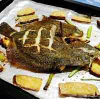 烤多宝鱼的做法