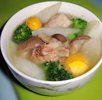三鲜排骨汤的做法