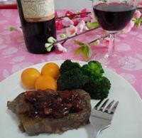 情人节晚餐:红酒黑胡椒牛排的做法