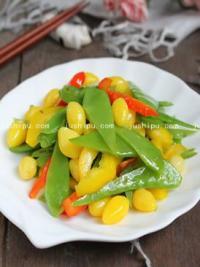 家常菜 清炒荷兰豆的做法