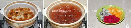 桃胶水果捞的做法 www.meitianmeiwei.com