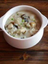 早餐 皮蛋牡蛎粥的做法