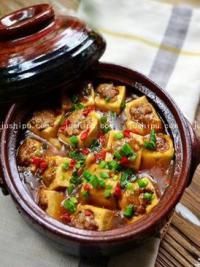 香辣砂锅豆腐的做法