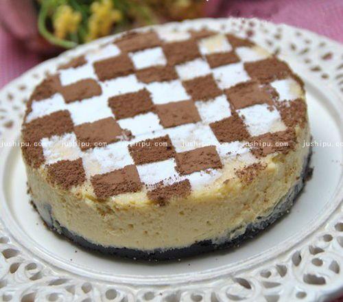 百利甜酒芝士蛋糕的做法 www.meitianmeiwei.com