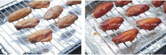 酱烤鸡翅的做法 www.meitianmeiwei.com