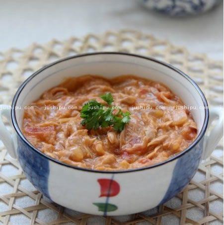 茄汁金枪鱼的做法 www.meitianmeiwei.com