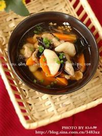家常菜 菱角瘦肉汤的做法