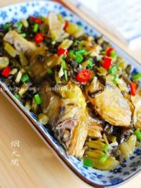 家常菜 雪菜小黄鱼的做法