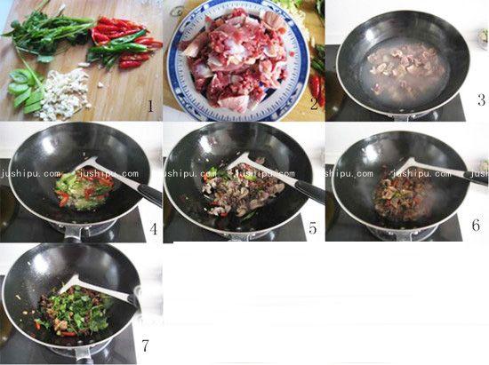 鲜辣孜然鸡胗的做法 www.meitianmeiwei.com