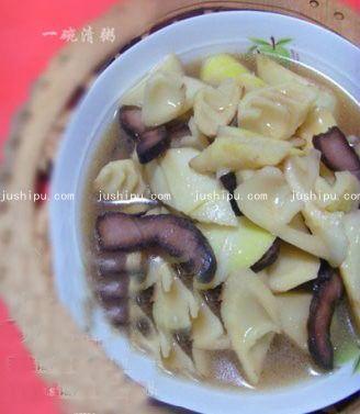 春笋炒腊肉的做法 www.meitianmeiwei.com