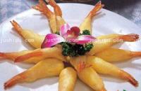凤尾对虾卷的做法