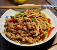 下饭荤菜 姜鸭丝的做法